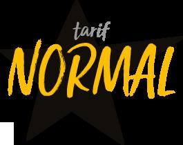 Infos Pratiques Tarif normal